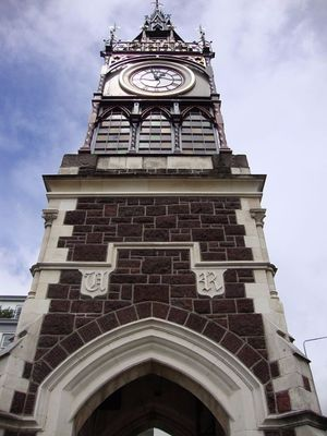 Victoria Street Clock Tower restored by Plaster Works
